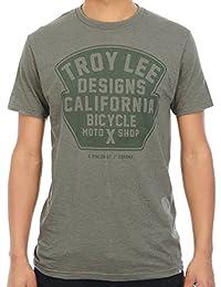 Tee shirt Troy Lee Designs Granger Solid Kelly Heather