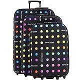 Lot 3 valises dont 1 Cabine RYANAIR David Jones - Poignée télescopique - Fermeture éclair