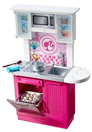 barbie cfb62 bambola barbie e i suoi arredamenti cucina amazonit giochi e giocattoli