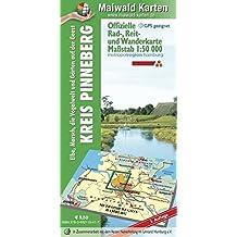 Pinneberg = Offizielle Rad-, Reit- u. Wanderkarte Kreis Pinneberg - Elbe, Marsch, die Vogelwelt und Gärten der Geest: 1:50.000 - GPS geeignet - ... - Maßstab 1:50.000 - GPS geeignet)