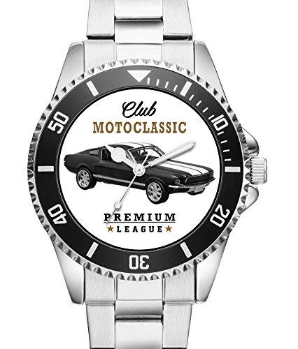 Ford Mustang 1967 Oldtimer Geschenk Zubehör Fanartikel - KIESENBERG Uhr 2656