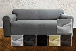 ambivelle couchhusse sofabezug couchbezug bi elastische stretchhusse spannbezug f r. Black Bedroom Furniture Sets. Home Design Ideas
