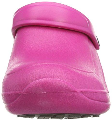 Toffeln - Eziprotekta, Calzature Di Sicurezza, unisex, Bianco (Bianco (White)), 39 Pink (Hot Pink)