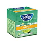 #6: Tetley Super Green Tea, Boost, 10 Tea Bags