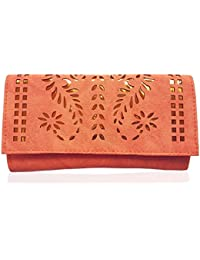 Bloomtail Hand Purse | Pu Clutches For Girls | Handbags, Wallet For Womens | Stylish Trendy Purses (8.5x4x1) Inches - B07F48MNR7