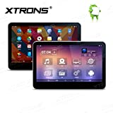 XTRONS 2 x 10.1 Inch Android 6.0 Quad Core Capacitive Touch Screen Car DVD Headrest 1080P Video Player HDMI Screen Mirroring Function (HD13ASx2)