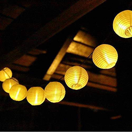 rkette Warmweiß Lampions für Party, Garten, Weihnachten, Halloween, Hochzeit, Beleuchtung [Energieklasse A+++] (Orientalische Hochzeit)
