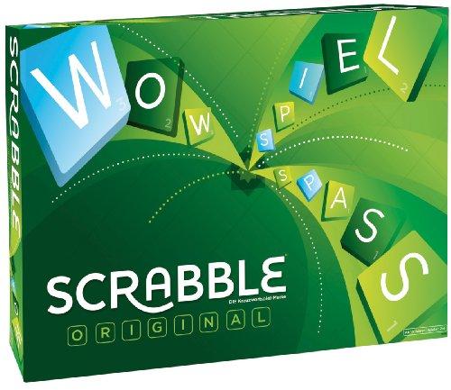 Mattel Games Y9598 - Scrabble Original Wörterspiel,