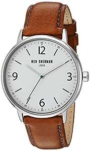 Ben Sherman - WB023BR - Montre Homme - Quartz - Analogique - Bracelet Cuir marron