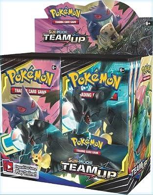 Pokémon POK81486 TCG: Sun & Moon 9 Team Up Booster Display de Pokémon