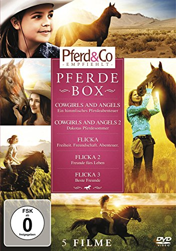 Pferde  Box [5 DVDs] (Cowgirls And Angels)