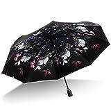 HOMEE Ombrello ombrellone a doppia piega ombrellone antivibrazione violetta e ombrello da pioggia