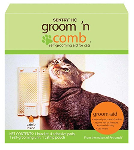 sentry-hc-groom-n-comb-self-grooming-aid-with-catnip-for-cats