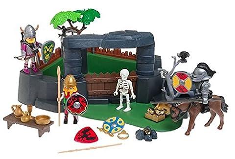Playmobil warrior King Obermenge von König und Ritter 3137-Miniatur