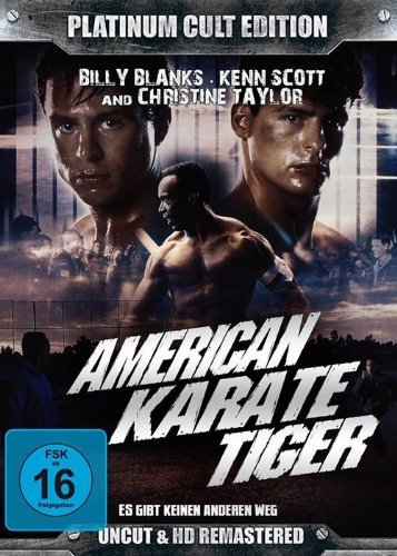 Bild von American Karate Tiger ( Platinum Cult Edition )