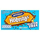 Mcvities Glutenfreie Milch Choc Hobnobs 150G (Packung mit 6)