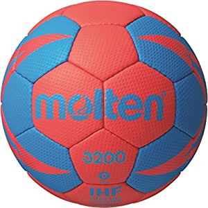 Molten h0 x 3200–rB2 ballon de handball-rouge/bleu - 0 x h0, 3200–rB2