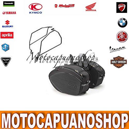 16c183d4678 Givi Side Bags Large ea100b Frame te8201 Moto Guzzi V7 2012 2013