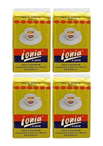 Ionia Caffè Espresso Oro Superior (4 x 250 g)