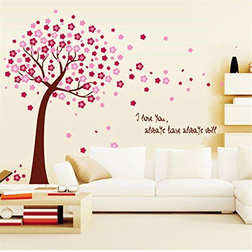 romantic-cherry-peach-blossom-plum-flowers-tree-wall-stickers-love-mural-art-decals-vinyl-home-decor