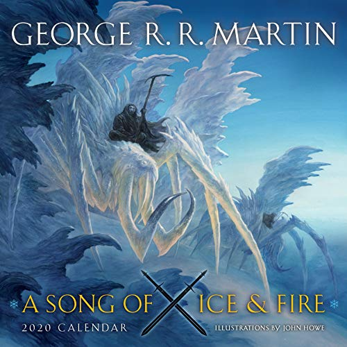 A Song of Ice and Fire 2020 Calendar: Illustrations by John Howe -