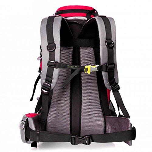 Die neuen Berg Taschen Outdoor-Reisen Sporttasche Rucksack Wanderrucksack Männer und Frauen Rot