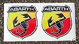 Fiat Abarth optik logo sticker aufkleber punto 500