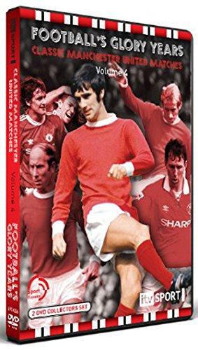 Football Glory Years Man Utd Matches Vol 4 [DVD]