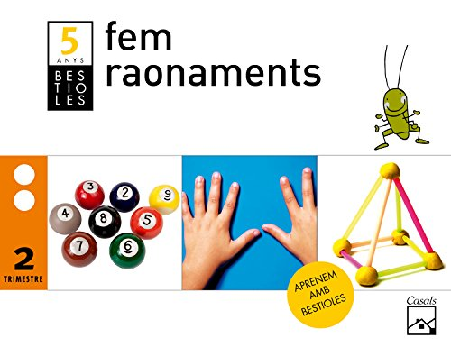 Fem raonaments 2n trimestre 5 anys. Bestioles (2012) - 9788421851364