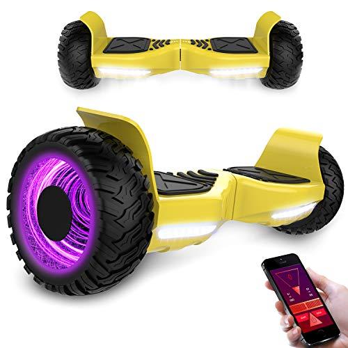 Kategorie <b>Zweirad E-Board (Hoverboard) </b> - MARKBOARD Hover Scooter Board 8,5 Zoll Elektro Skateboard 700W Motor - Gyropod Modell Bluetooth