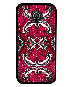 FUSON Designer Back Case Cover for Motorola Moto E :: Motorola Moto E XT1021 :: Motorola Moto E Dual SIM :: Motorola Moto E Dual SIM XT1022 :: Motorola Moto E Dual TV XT1025 (Best Wallpaper Red Dark Shade Table Design Artwork)