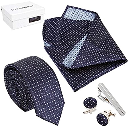Bundle Monster Mens Fashion Accessory Combo Kit - Navy w/Light