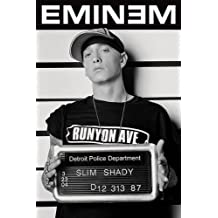 "Póster ""Eminem"" Foto de antecedente penal (61cm x 91,5cm)"