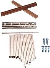 perfk Afrikanische Kalimba Thumb Piano Steel Tasten Ideal für DIY kalimbas mbiras