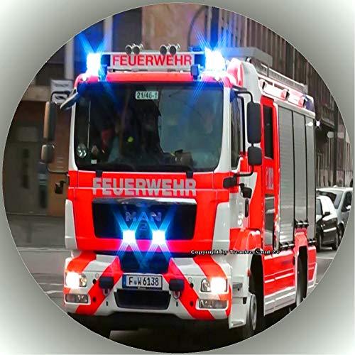 Premium Esspapier Tortenaufleger Feuerwehr T6