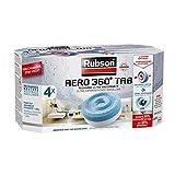 Rubson AERO 360° Recharges en tabs neutres pour absorbeur d'humidité, ultra absorbantes et anti...