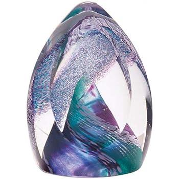 x 80mm ht Caithness Glass Wedding Bells Ruby Paperweight 75mm