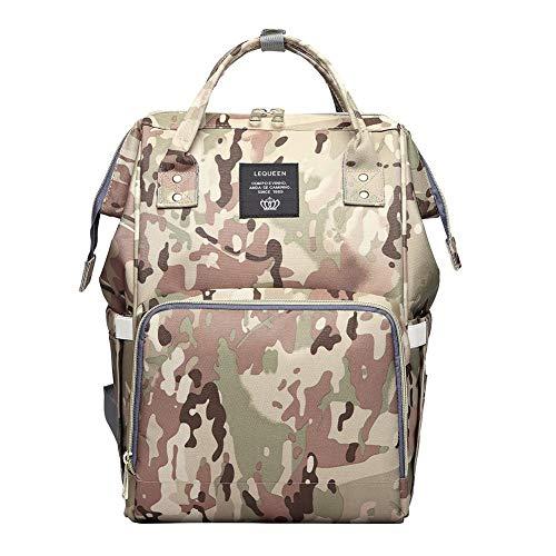 Herren Wickelrucksack Camouflage oder Armee Design