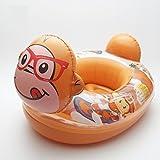 Kleinkinder und Kleinkinder Doppelballon Aufgeblasen Yacht 1-5 Jahre alt Baby Schwimmen Ring Kind PVC Karikatur Sitzen auf dem Kreis , monkey