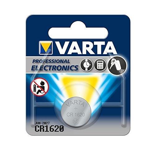 Varta 13501620 Lithium Knopfzelle (CR1620, 1er Pack)