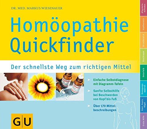 Quickfinder Homöopathie (GU Quickfinder Körper,...
