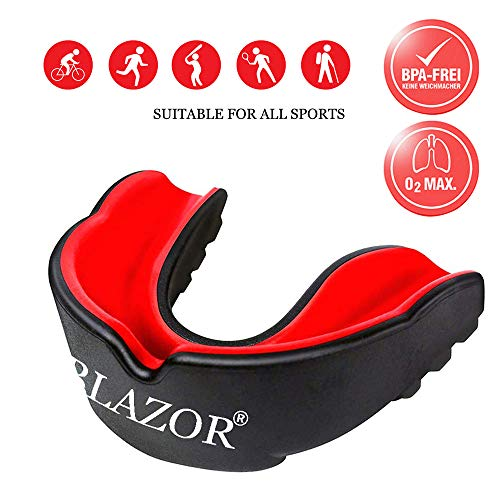 BLAZOR Protector Bucal Protector Dientes Sports Mouthguard