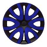 (Farbe & Größe wählbar) 16 Zoll Radkappen Mika Blau passend für fast alle gängigen Fahrzeuge (universal)