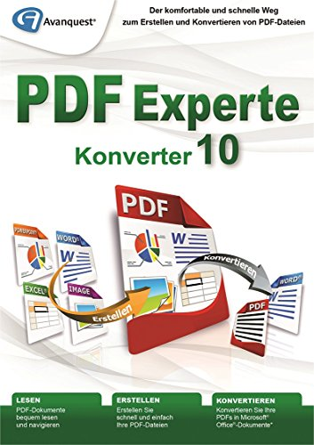 PDF Experte 10 Konverter [Download] (Scanner-konverter)