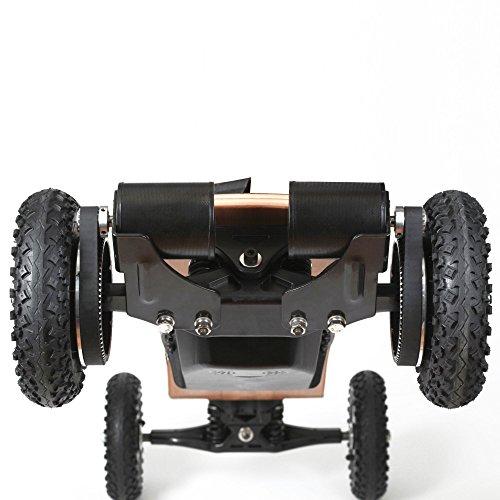 Mountainboard by iSHOXS, elektrisches Longboard, nur 13 kg, bis zu 35 km/h schnell, bis zu 30 km Reichweite, 11 Ah Akku