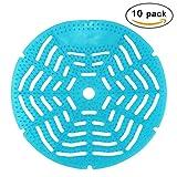 UNICOCO 10 Unidades Urinario Protector de Ambientador Protector de Salpicaduras Para cada urinario Olor Fragante Lavabo Azul