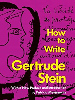 How to Write par [Stein, Gertrude]