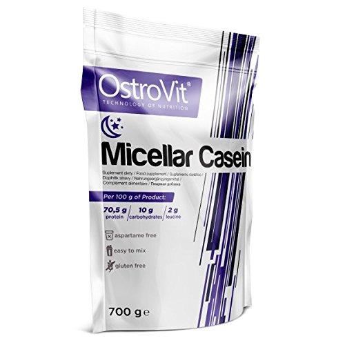 OstroVit MICELLAR CASEIN Natural, 1er Pack (1 x 700 g)