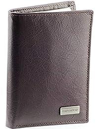 dd408031ad7 VANITY - Portefeuille cuir vachette marron Porte-monnaie   permis   cartes