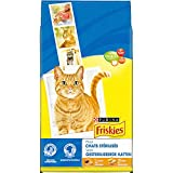 Friskies Cat Food Kibble Turkey and Vegetables Special Cat Sterilised 7.5 kg (x1)